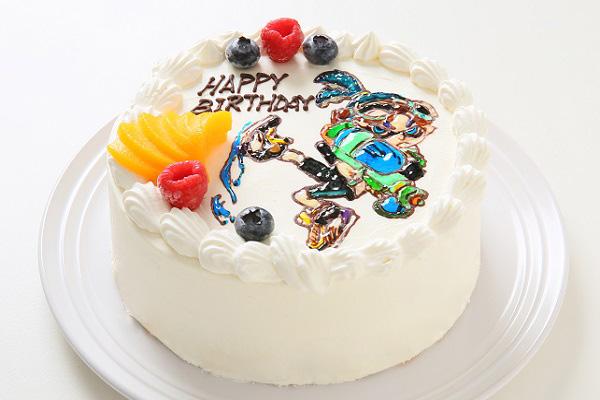 フランボワーズオリジナル イラストケーキ 5号 15cmの画像3枚目