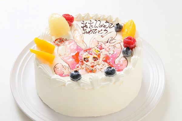 フランボワーズオリジナル イラストケーキ 5号 15cmの画像4枚目