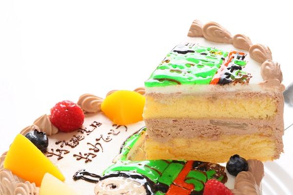 フランボワーズオリジナル イラストケーキ 5号 15cmの画像9枚目