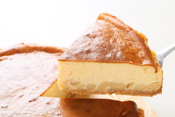 大洲大豆とクリーム豆腐のチーズケーキ 直径約22cmの画像1枚目