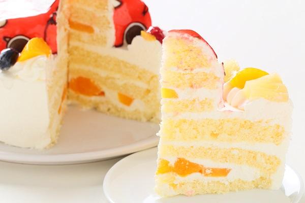 のりもの立体生クリームデコレーションケーキ 5号 15cmの画像8枚目