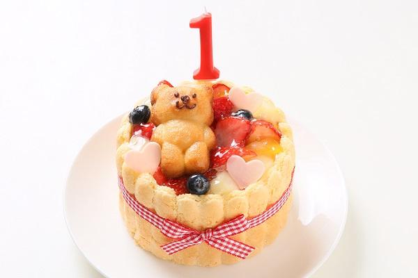 ファーストバースデーケーキ ホイップヨーグルトクリーム 3号 9cm