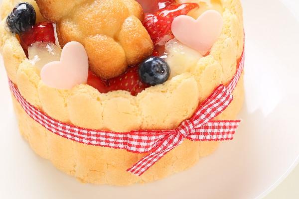 ファーストバースデーケーキ ホイップヨーグルトクリーム 4号 12cmの画像10枚目