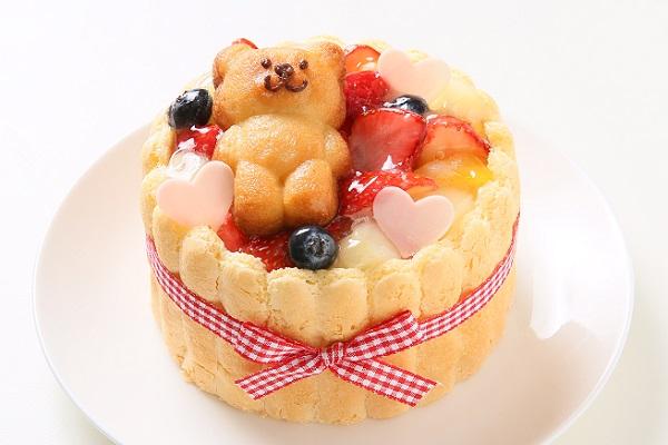 ファーストバースデーケーキ ホイップヨーグルトクリーム 4号 12cmの画像3枚目