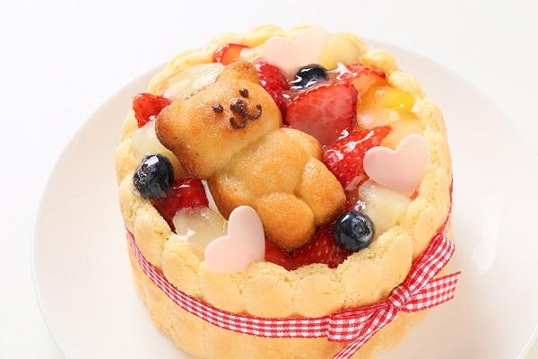 ファーストバースデーケーキ ホイップヨーグルトクリーム 4号 12cmの画像9枚目