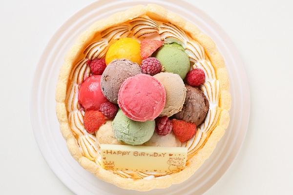 手作りアイスケーキ 16cmの画像2枚目