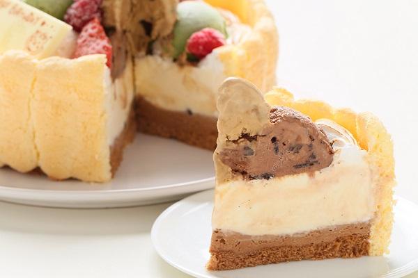 手作りアイスケーキ 16cmの画像5枚目
