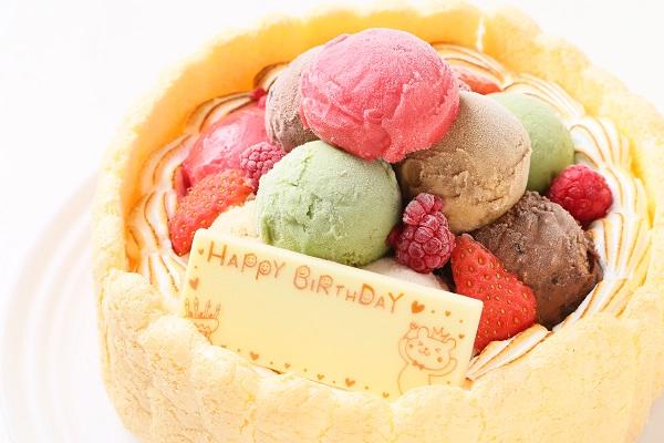 手作りアイスケーキ 16cmの画像7枚目