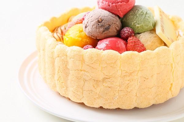 手作りアイスケーキ 16cmの画像9枚目