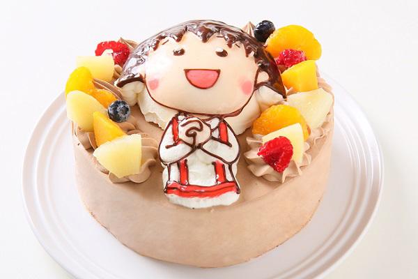 立体チョコクリームデコレーションケーキ 5号 15cmの画像2枚目