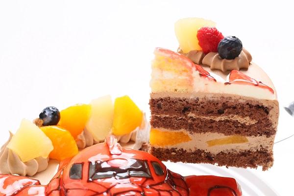 立体チョコクリームデコレーションケーキ 5号 15cmの画像6枚目