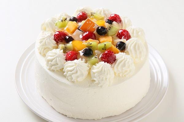 フルーツデコレーションケーキ 5号 15cm