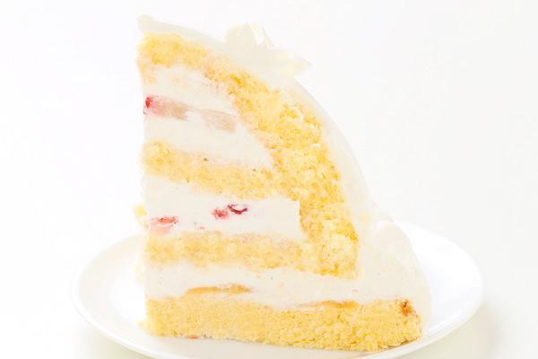 プリンセスケーキ 眠り姫ホワイト 5号 15cmの画像4枚目
