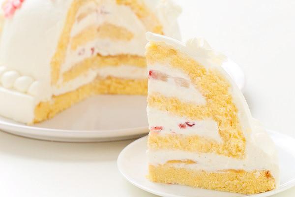 プリンセスケーキ 眠り姫ホワイト 5号 15cmの画像5枚目