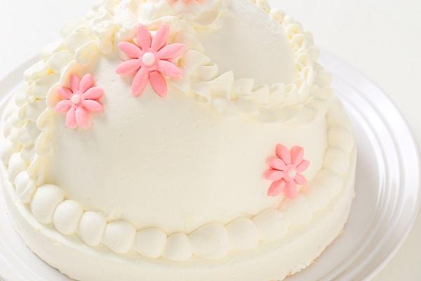 プリンセスケーキ 眠り姫ホワイト 5号 15cmの画像7枚目