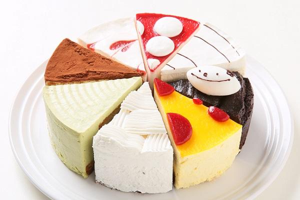 卵・乳製品・小麦粉除去 卵、乳、小麦アレルギー対応 よりどり8種のホールケーキ 5号 15cm