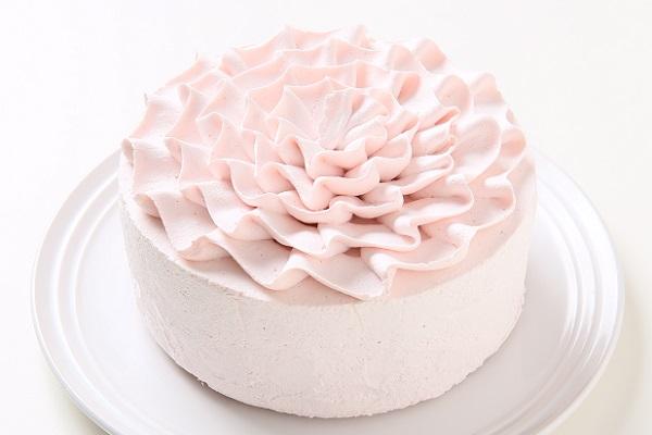卵・乳製品・小麦粉除去 苺クリームホールケーキ 5号 15cm