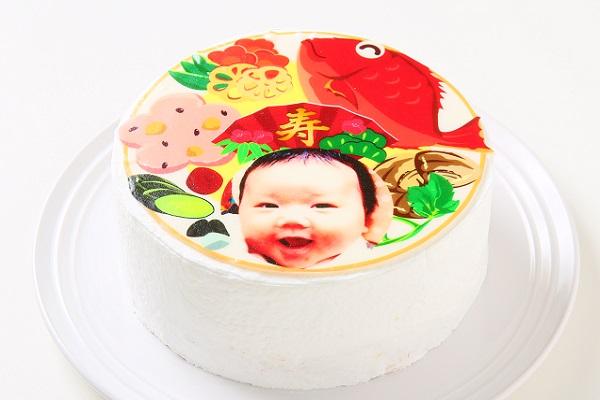 オリジナルお食い初めケーキ 4号 12cm