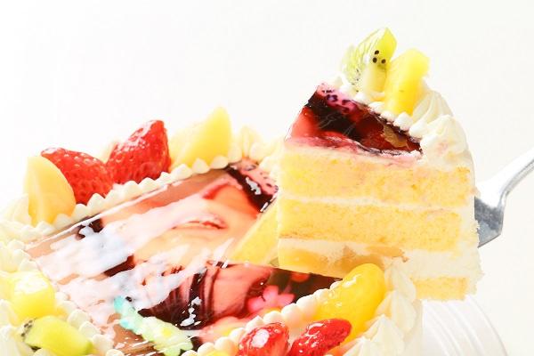 フォトケーキ 生クリーム 4号 12cmの画像3枚目