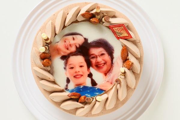 フォトケーキ チョコ 4号 12cm