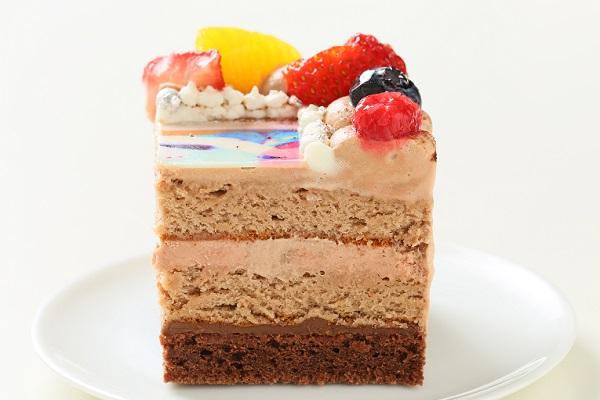 生チョコフォトケーキ 13×13cmの画像6枚目
