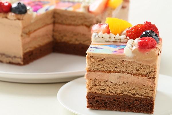 生チョコフォトケーキ 13×13cmの画像7枚目