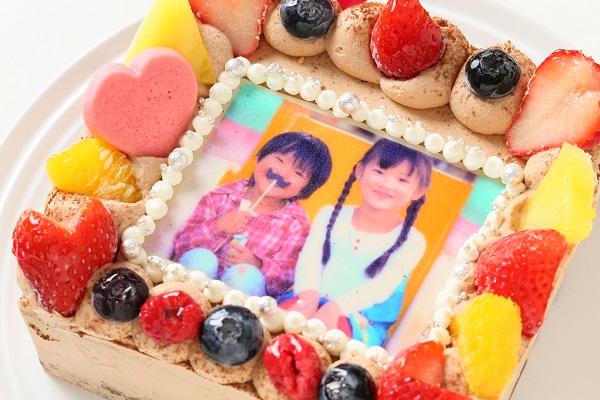 生チョコフォトケーキ 13×13cmの画像8枚目