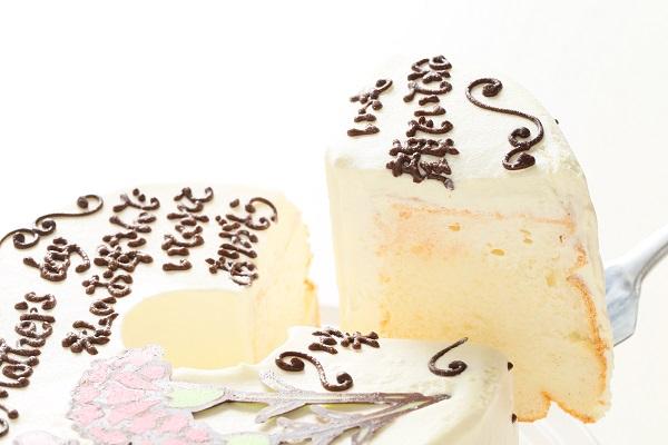 母の日 お手紙ケーキとカーネーション 直径17cmの画像3枚目