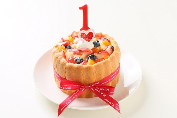 ファーストバースデーケーキ 4号 12cm