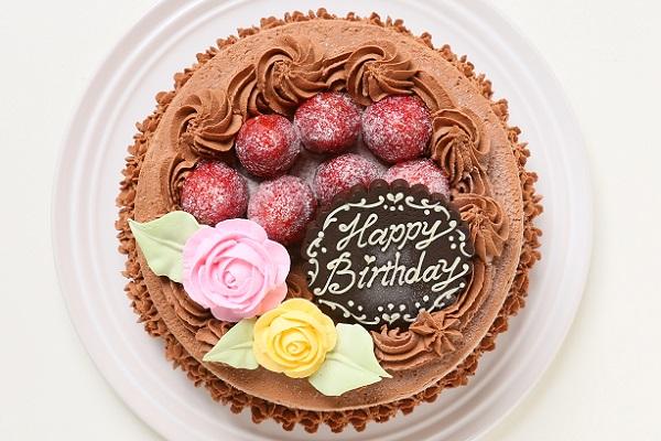 生チョコショートケーキ 5号 15cmの画像2枚目