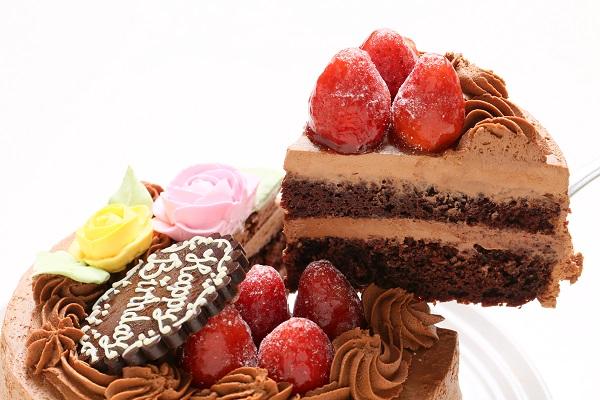 生チョコショートケーキ 5号 15cmの画像3枚目