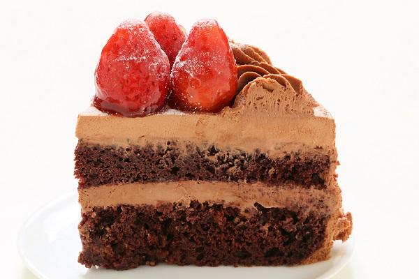 生チョコショートケーキ 5号 15cmの画像4枚目