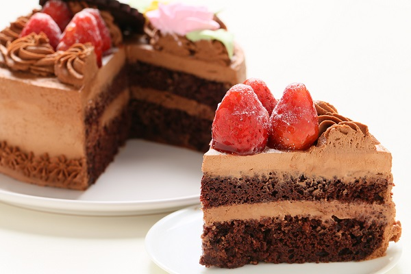 生チョコショートケーキ 5号 15cmの画像5枚目