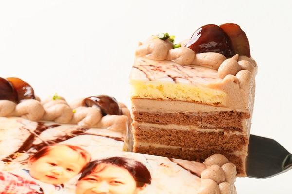 写真ケーキモンブラン Sサイズ 15cm×15cmの画像3枚目