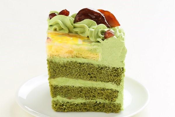 写真ケーキ抹茶 Mサイズ 18cm×18cmの画像4枚目