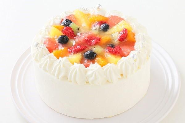 フルーツデコレーションケーキ  4号 12cm