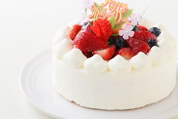 卵・乳製品除去 母の日スペシャル生ケーキ  5号 15cmの画像7枚目