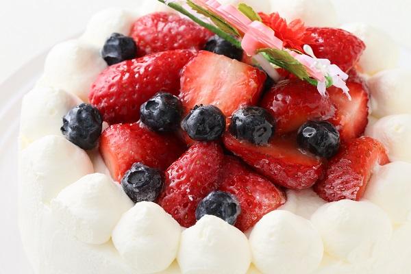 卵・乳製品除去 母の日スペシャル生ケーキ  5号 15cmの画像8枚目