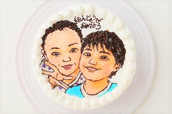 似顔絵ケーキ 7号 21cmの画像3枚目