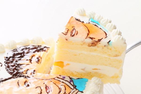 似顔絵ケーキ 5号 15cmの画像5枚目