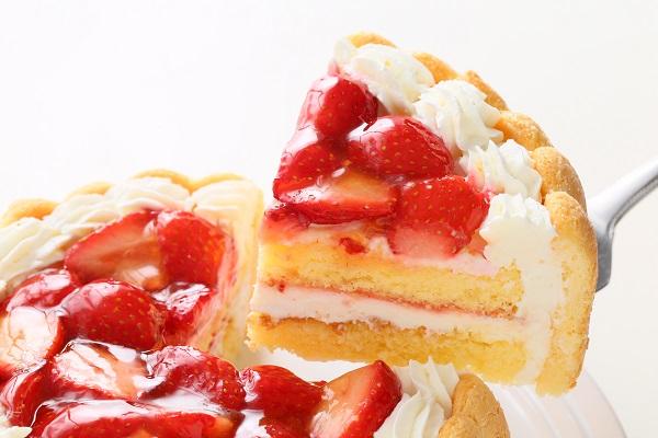 ファーストバースデー イチゴケーキ ヨーグルト 4号 12cmの画像5枚目