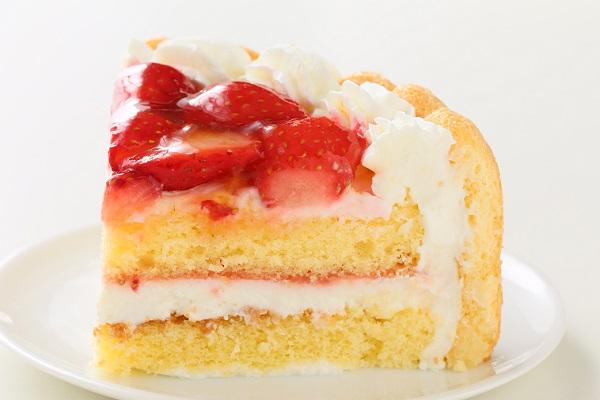 ファーストバースデー イチゴケーキ ヨーグルト 4号 12cmの画像6枚目