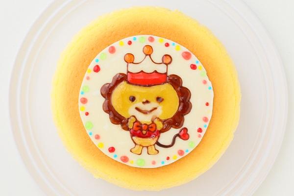 イラストスフレチーズケーキ 4号 12cmの画像1枚目