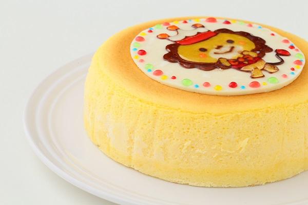 イラストスフレチーズケーキ 4号 12cmの画像10枚目