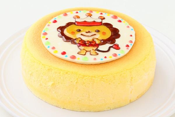 イラストスフレチーズケーキ 4号 12cmの画像2枚目