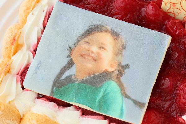 写真プレート付き レアチーズキャレ フォトケーキ 4号 12cmの画像6枚目