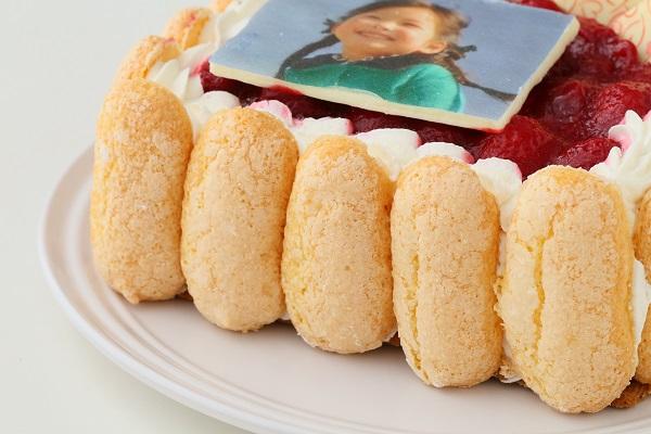 写真プレート付き レアチーズキャレ フォトケーキ 4号 12cmの画像8枚目