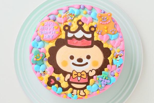 キャラクター1体のみ キャラクターケーキ 4号 12cmの画像1枚目