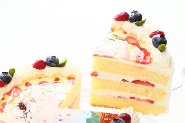 写真ケーキ 生デコ 4号 12cmの画像3枚目