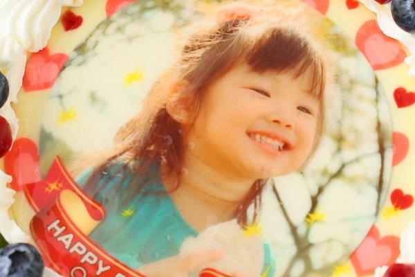 写真ケーキ 生デコ 4号 12cmの画像6枚目
